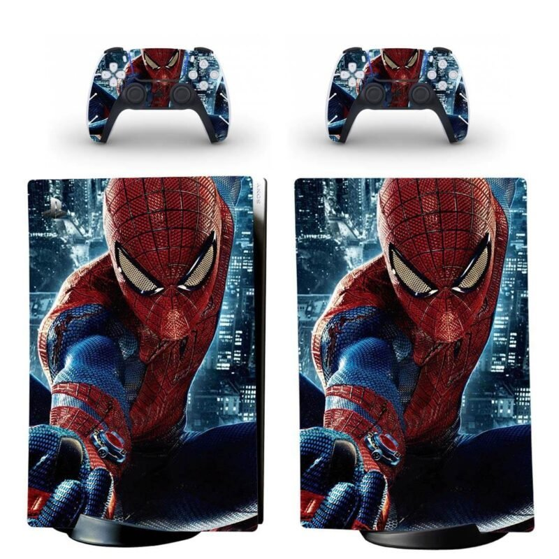 The Amazing Spider-Man Dope PS5 Digital Console Skin