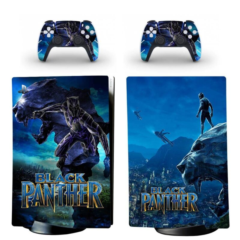 Black Panther Chadwick Boseman Dope PS5 Digital Cover