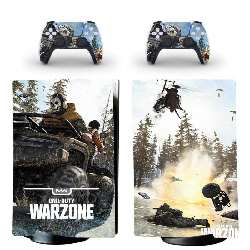 Call Of Duty Warzone Ghost Riley War Field PS5 Digital Skin