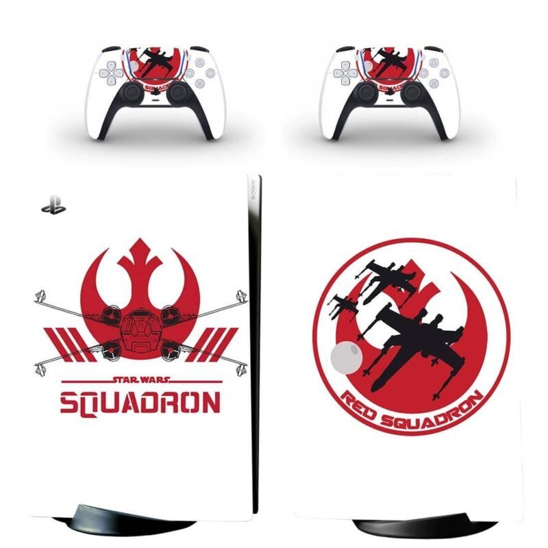 Star Wars Squadron Rebel Alliance Logo PS5 Digital Cover