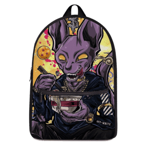 Dragon Ball Beerus Pop Culture Vector Art Dope Canvas Backpack