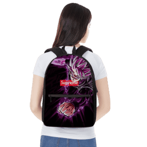 Dragon Ball Goku Black Saiyan Rose Supreme Awesome Backpack