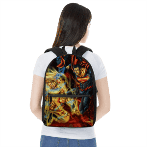 Dragon Ball Son Goku Versus Superman Fantastic Backpack