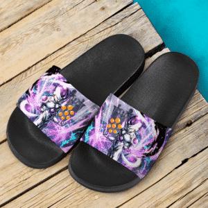 Dragon Ball Super Frieza Amazing Art Slide Sandals