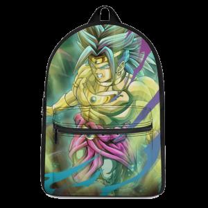 Dragon Ball Super Legendary Broly Fantastic Canvas Backpack