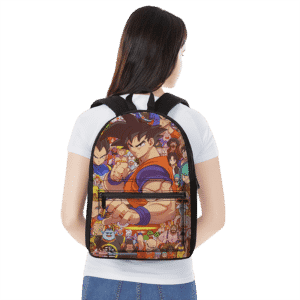 Dragon Ball Z All Characters Goku Family Art Cool Backpack