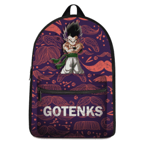 Dragon Ball Z Gotenks Majestic Pose Dark Themed Backpack