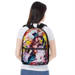 Dragon Ball Z Kid Buu And Kakarot SSJ3 Cool Backpack
