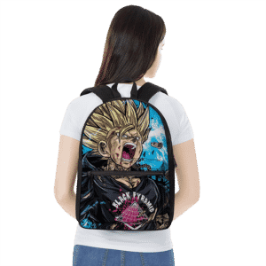 Dragon Ball Z Son Goku Dope Hypebeast Graphics Backpack
