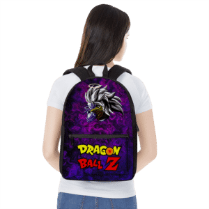 Dragon Ball Z Trippy Universe Goku SSJ3 Awesome Purple Backpack