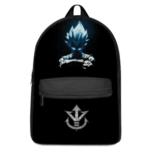Dragon Ball Z Vegeta SSGSS Saiyan Family Crest Awesome Backpack