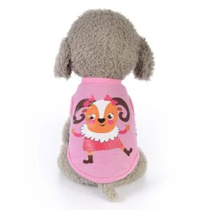 Dancing Goat In Polka Dress Spring Small Dog Tank Top - Woof Apparel