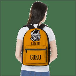 Super Saiyan Goku Awesome Dragon Ball Z Orange Backpack