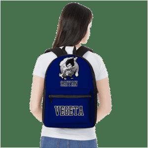 Super Saiyan Vegeta Awesome Dragon Ball Z Blue Backpack