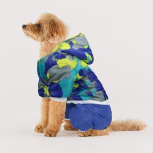 Thick Coat Winter Hooded Camouflage Warm Puppy Jacket - Woof Apparel