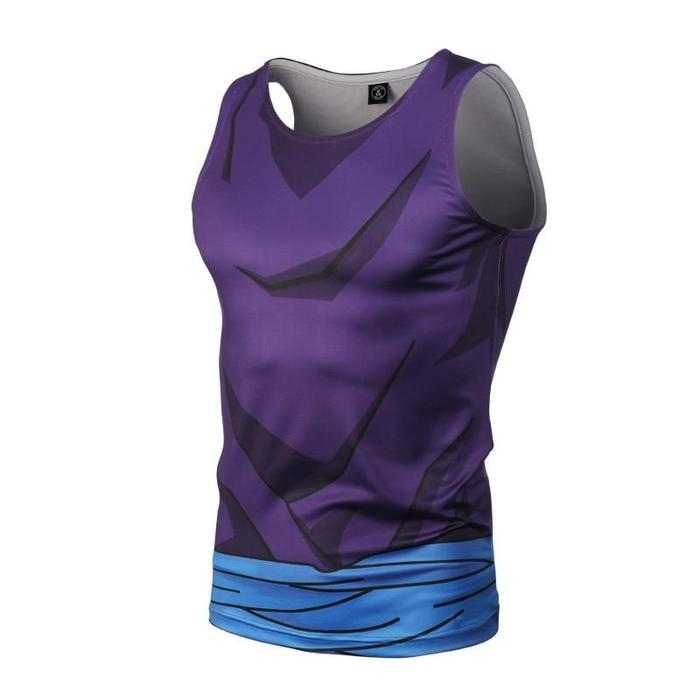 Teen Gohan Workout Compression Tank Top