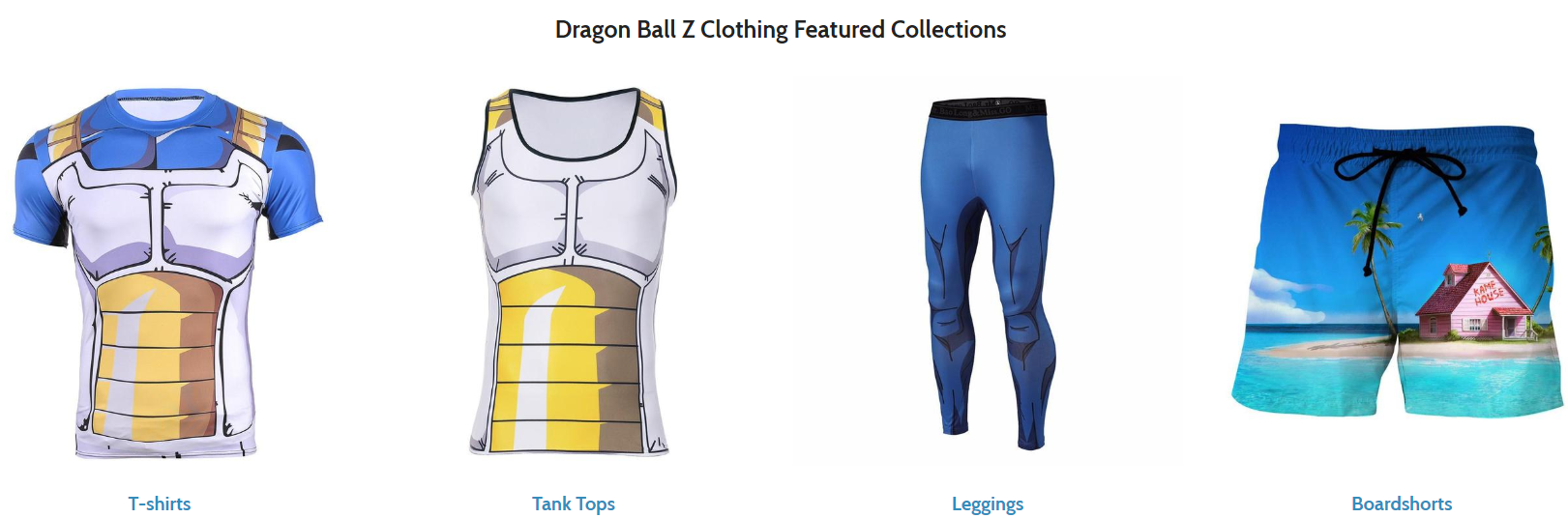 What is The Best Website to Shop Dragon Ball Z Clothing Online?