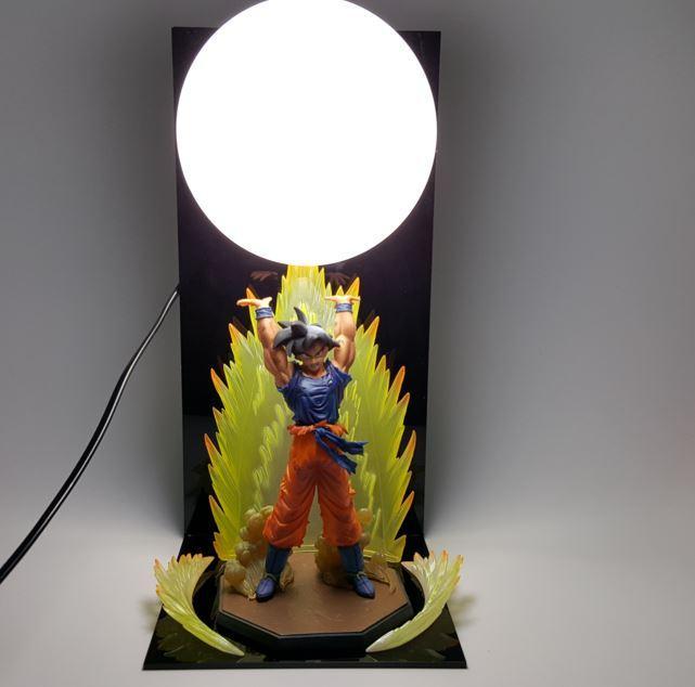 Dragon Ball Genki Dama Spirit Bomb Goku Bedside Lamp