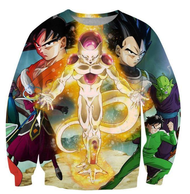Dragon Ball Z Resurrection 'F' Return of Frieza Sweatshirt