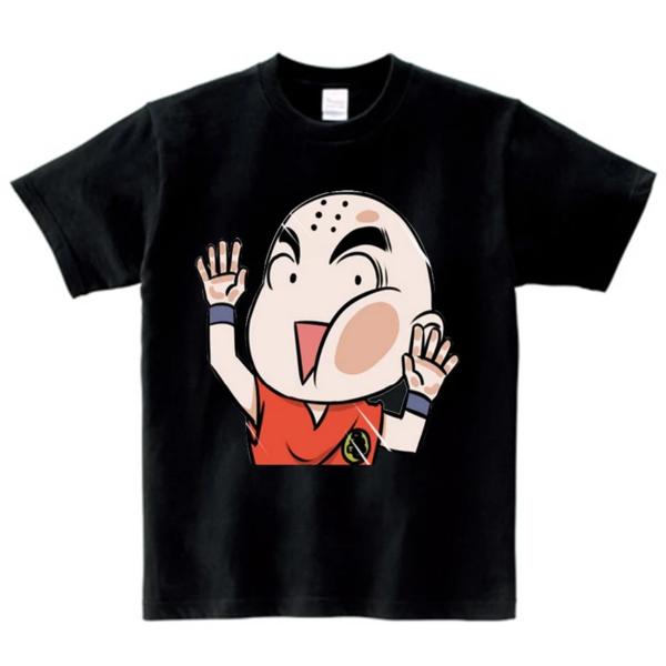 Dragon Ball Z Character Krillin Wacky Face Kids T-Shirt