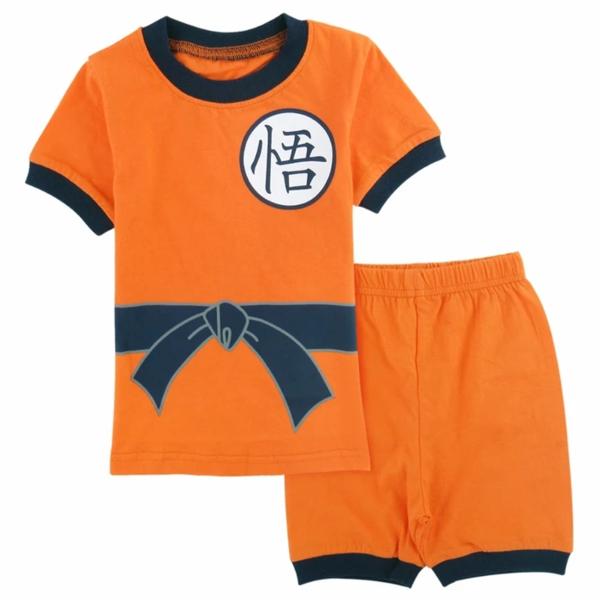Dragon Ball Z Son Goku Costume Cosplay Shirt And Shorts Set